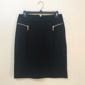 Michael Kors Straight Black Career Skirt 6